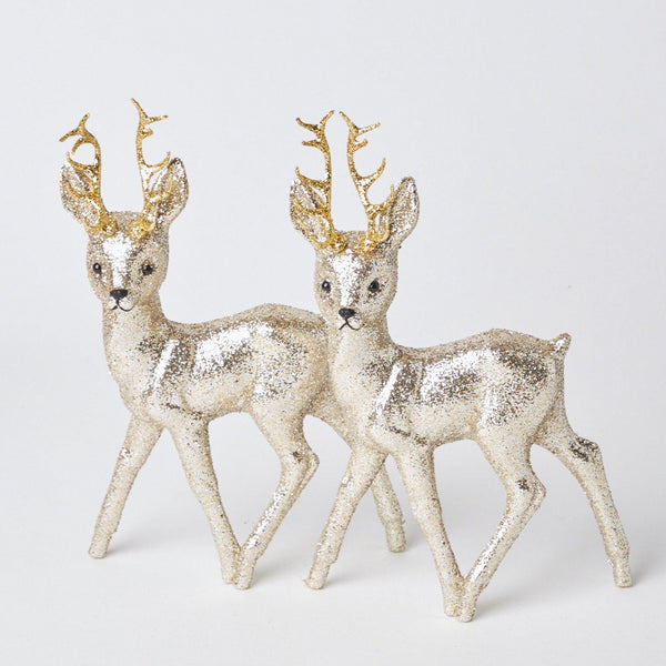 Baroque Reindeer Pair