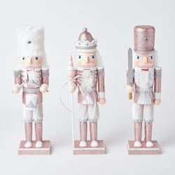 Rose Pink Nutcracker Trio