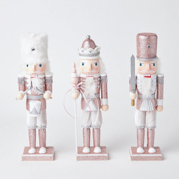 Rose Pink Nutcracker Trio (Large)