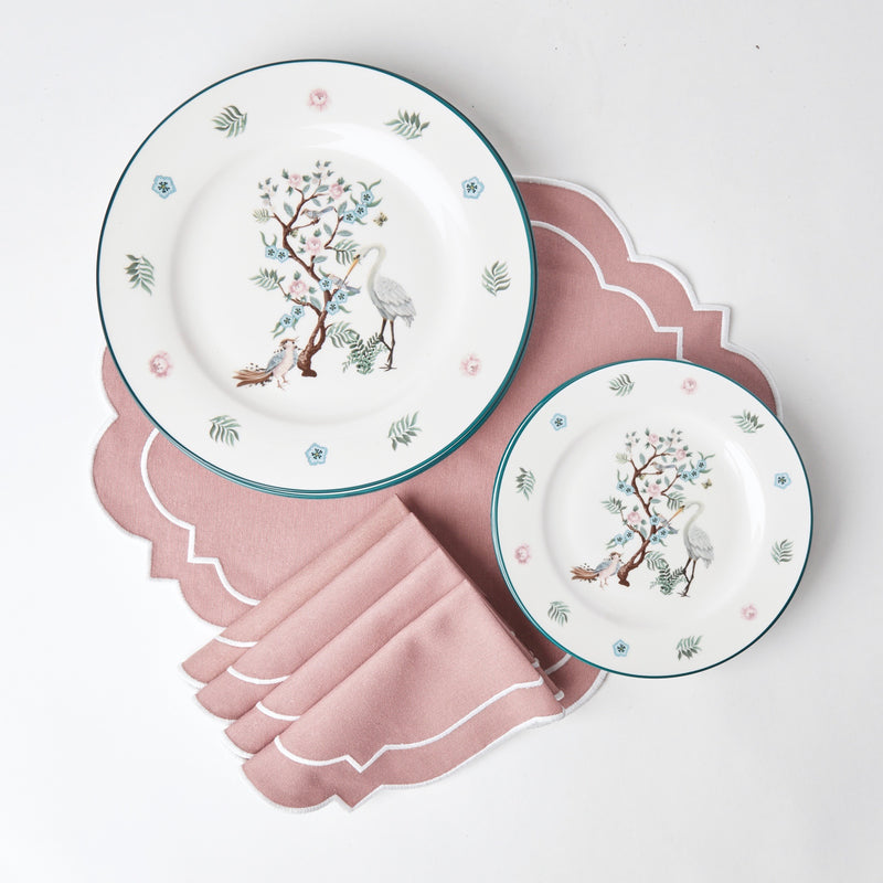 Poppy Chinoiserie Dinner Plate