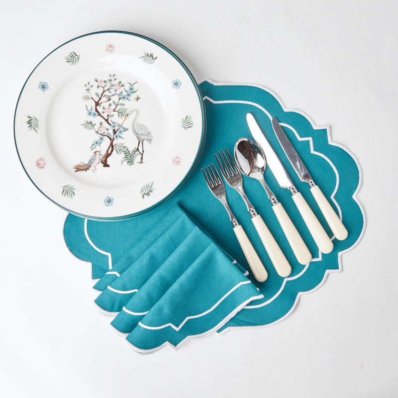 Poppy Ivory Cutlery (Set of 5)