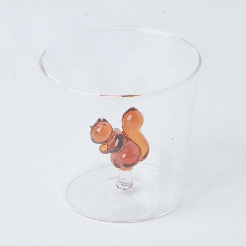 Squirrel Water Glasses (Set of 4)