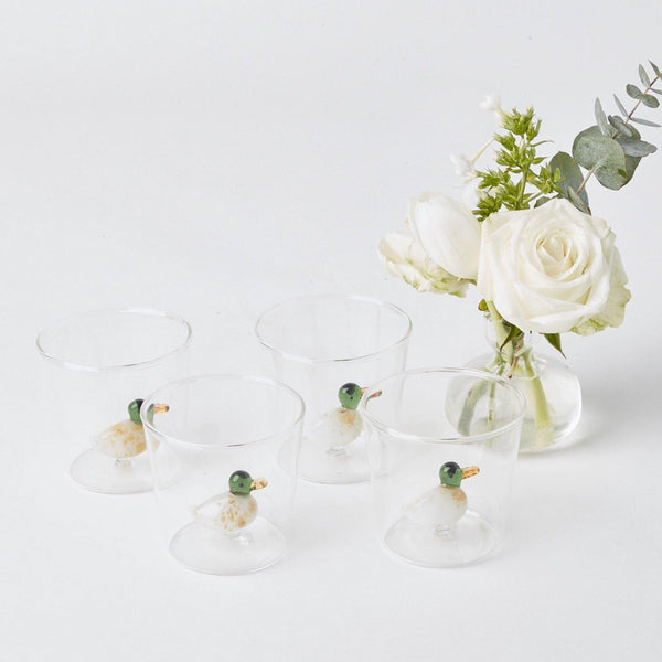 Mallard Water Glasses (Set of 4)