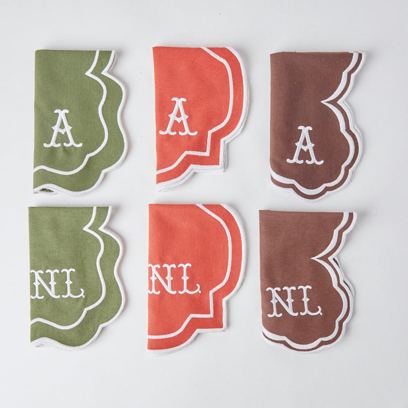 Serena Chocolate Napkins & Placemats (Set of 4)