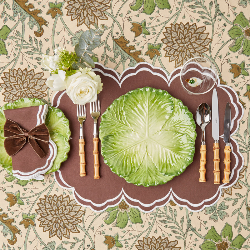 Serena Chocolate Placemats (Set of 4)