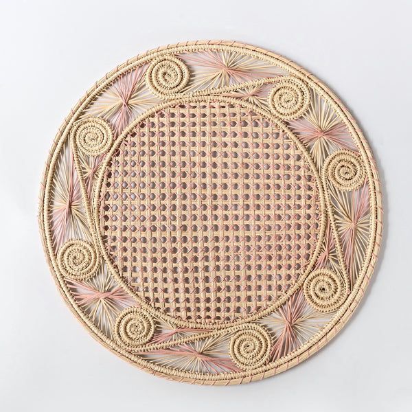 Coco Pink Woven Placemat (Set of 4)