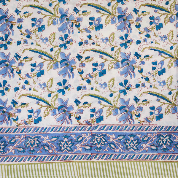 Blue Bougainvillea Tablecloth