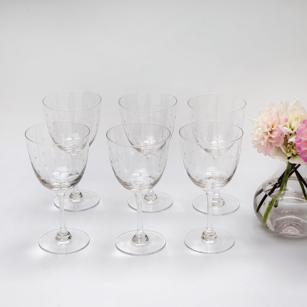 Poppy Star Wine Glass (Set of 6)