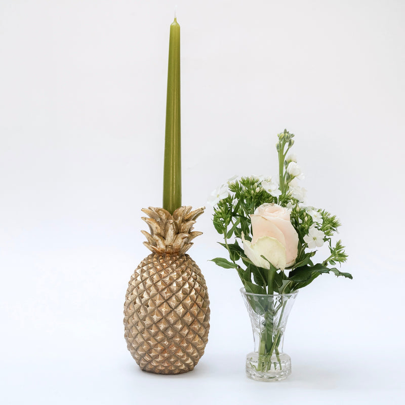 Small Pineapple Candle Holder (Pair)