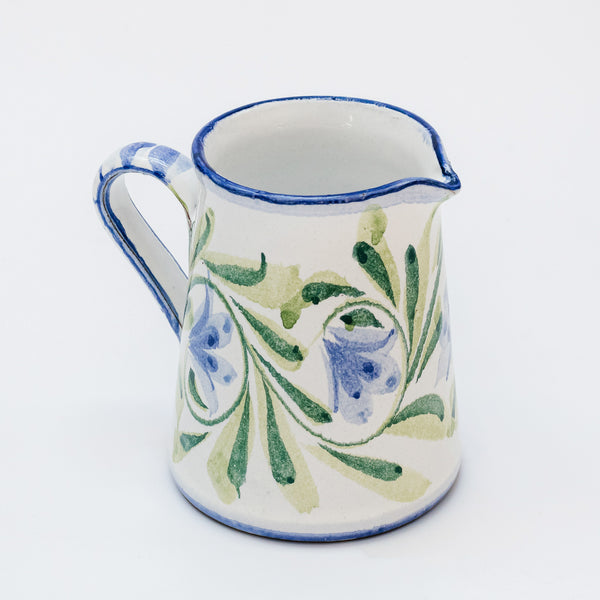 Hand Painted Bluebell Milk Jug
