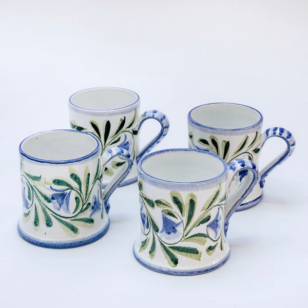 Hand Painted Bluebell Mug