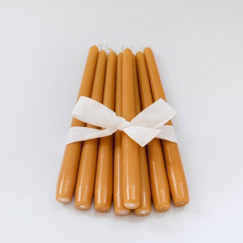 Mustard Candles (Set of 8)