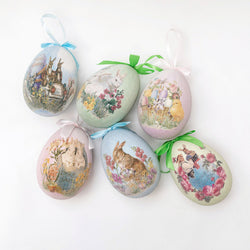 Traditional Easter Eggs (Set of 6)
