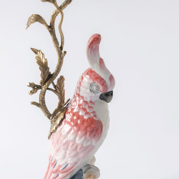 Cockatoo Candle Holder