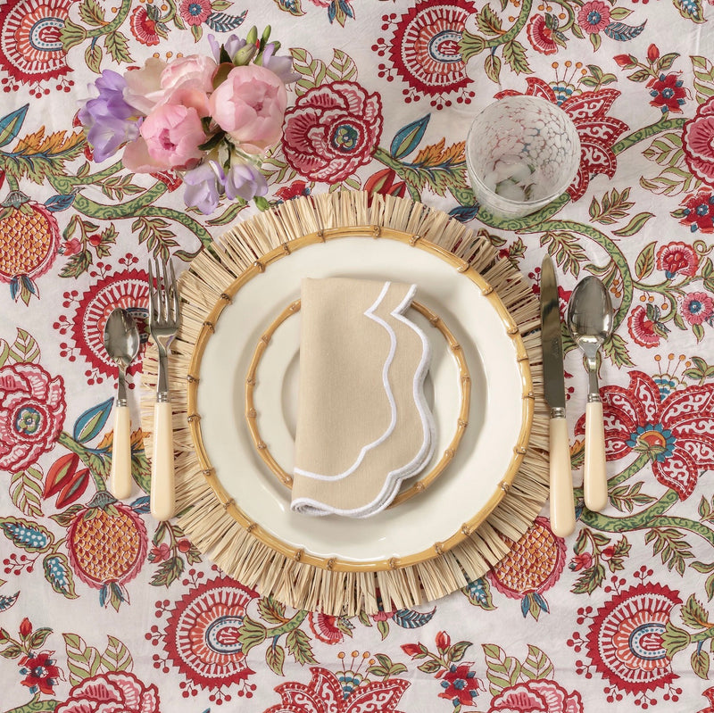 Raffia Placemats (Set of 4)