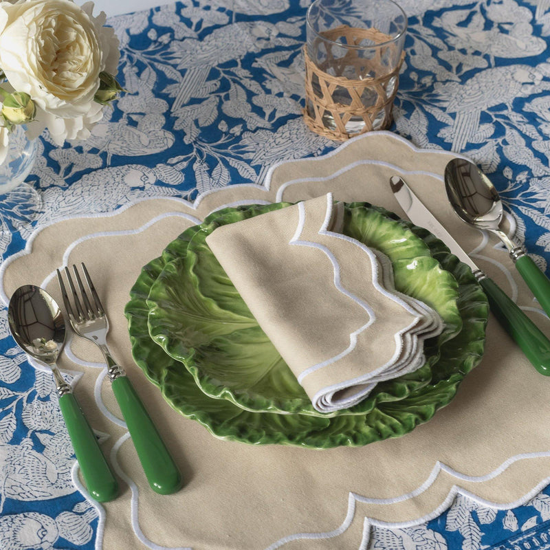 Blue Parrot Tablecloth