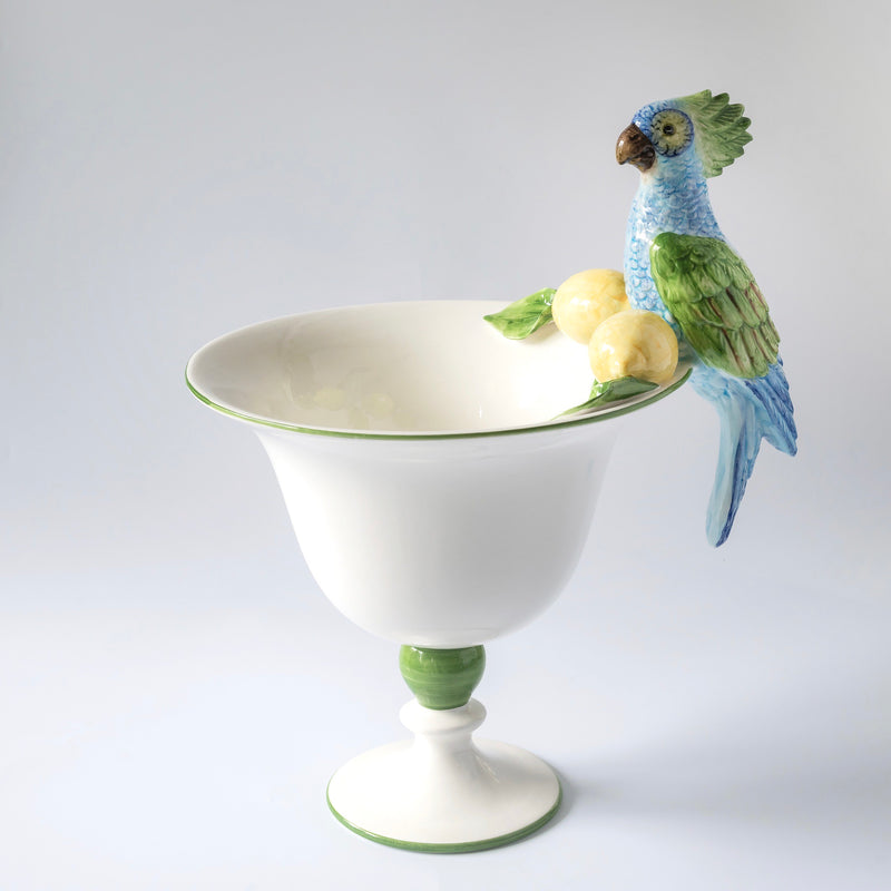 Parrot & Lemon Centre Piece