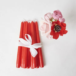 Red Candles (Set of 8)