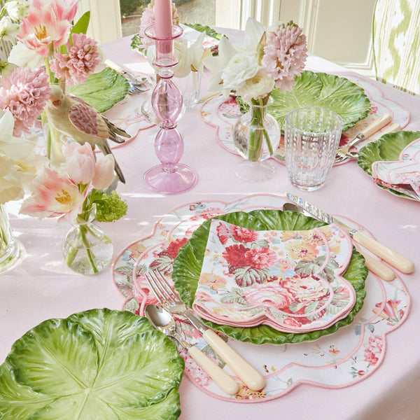 Sibyl Chintz Pink Napkins (Set of 4)