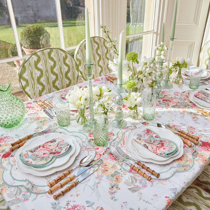 Sibyl Chintz Green Napkins (Set of 4)