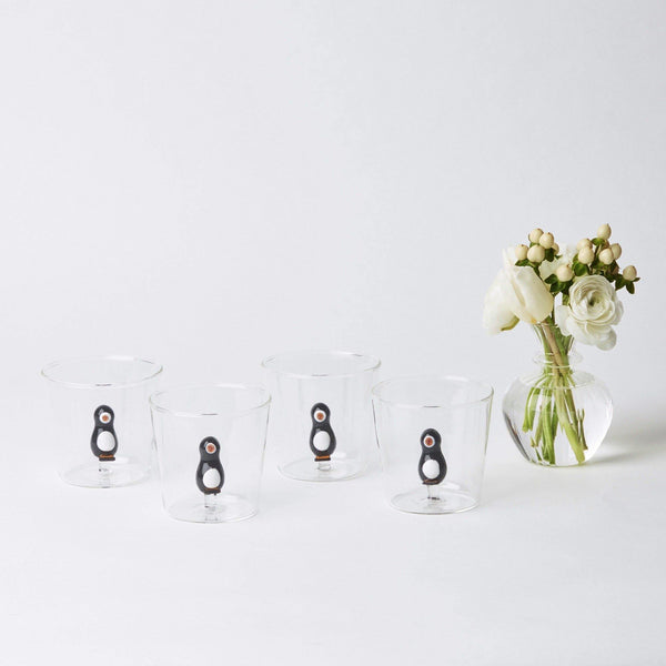 Penguin Water Glasses and Jug Set