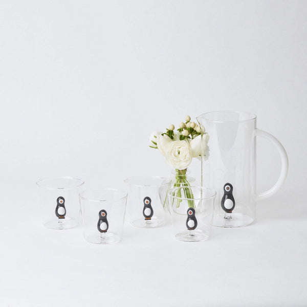 Penguin Water Glasses (Set of 4)