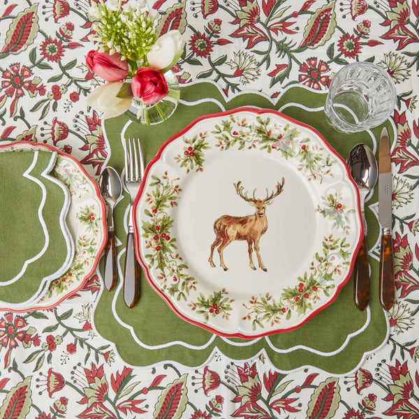 Nancy Olive Placemats (Set of 4)