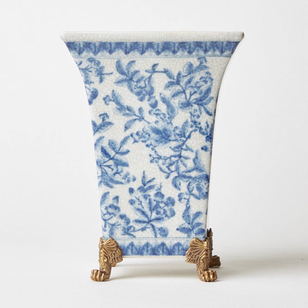 Blue & White Chinoiserie Planter