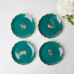 Forest Animal Side Plates (Set of 4)