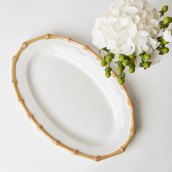 Nancy Bamboo Oval Platter