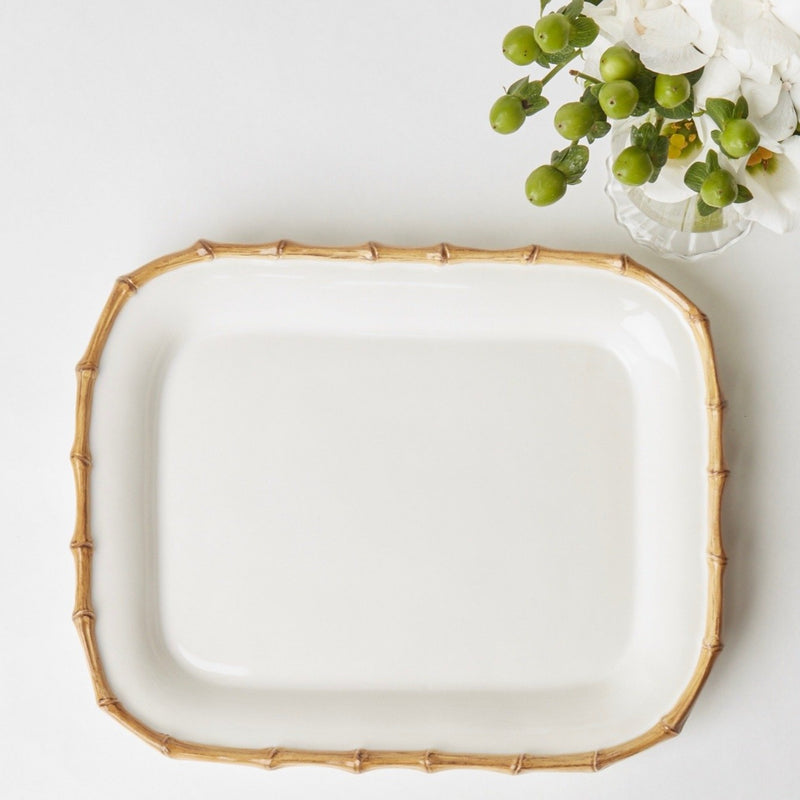 Nancy Bamboo Rectangle Platter