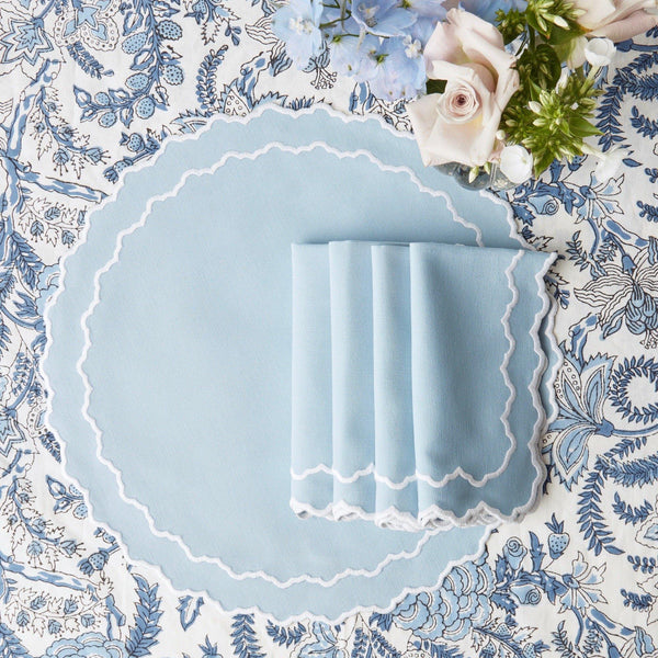 Beatrice Blue Napkins (Set of 4)