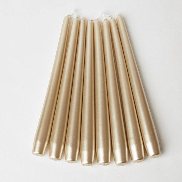 Gold Candles (Set of 8)