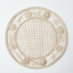 Coco Natural Woven Placemats (Set of 4)