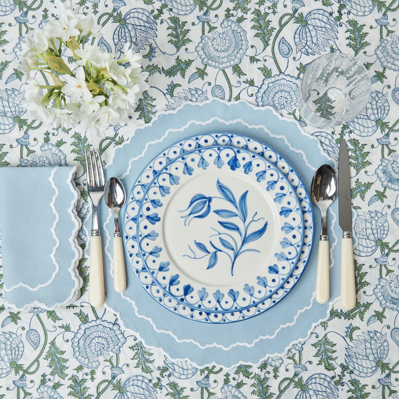 Beatrice Blue Placemats (Set of 4)