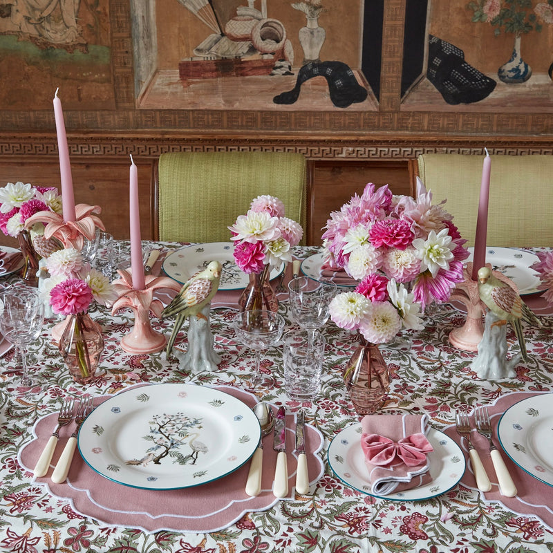 Poppy Dusty Pink Napkins & Placemats (Set of 4)