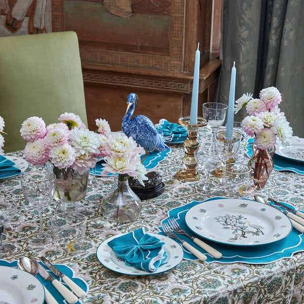 The Poppy Tablescape (Teal)
