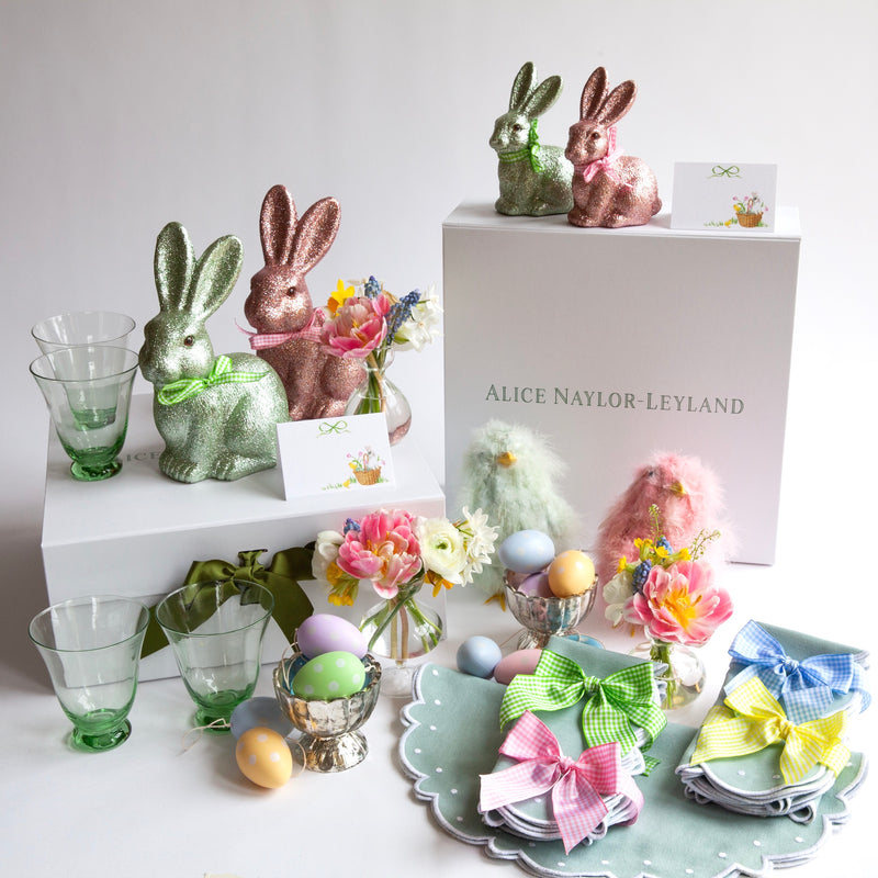 The Duck Egg Blue Easter Tablescape