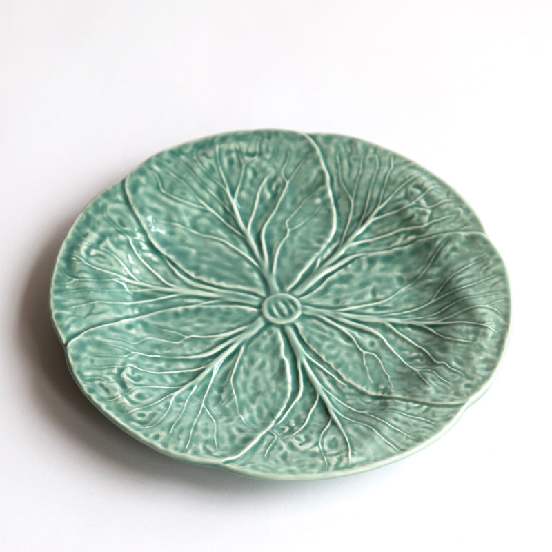 Soft Blue Lettuce Dinner Plate