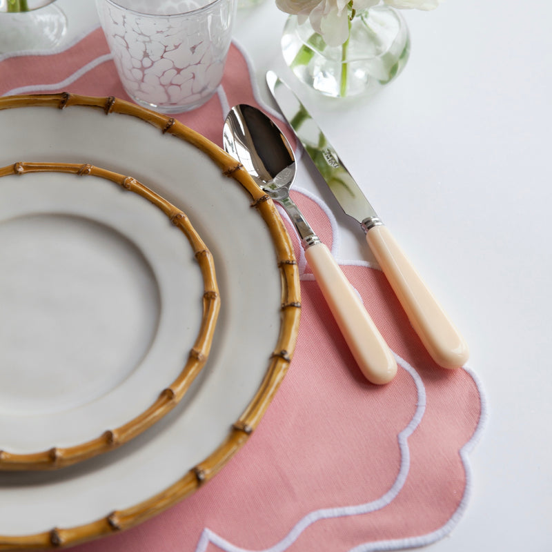 Nancy Blush Pink Placemats (Set of 4)