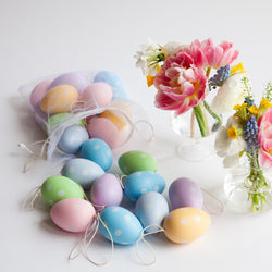 Spotted Pastel Easter Eggs (24 Pieces)