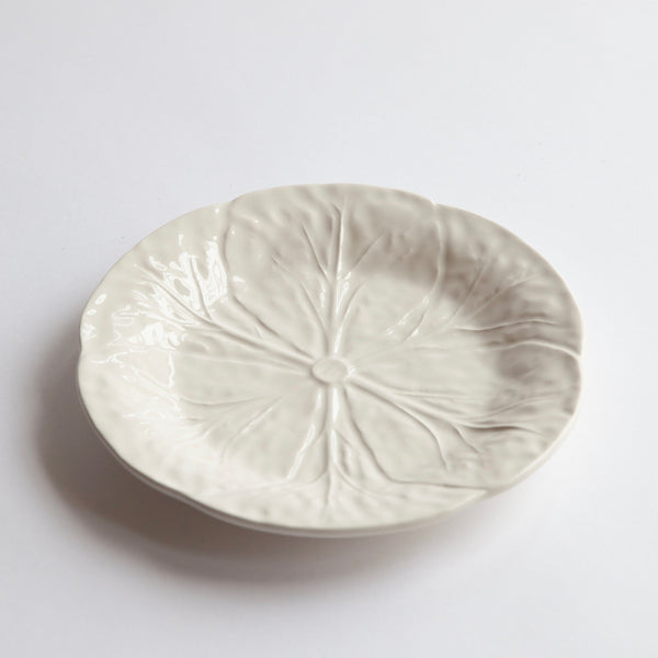 White Lettuce Side Plate