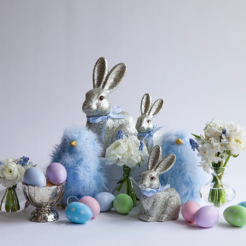 Easter Decorations Set - Blue