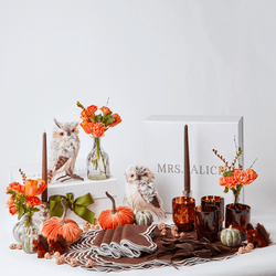 The Tawny Owl Tablescape