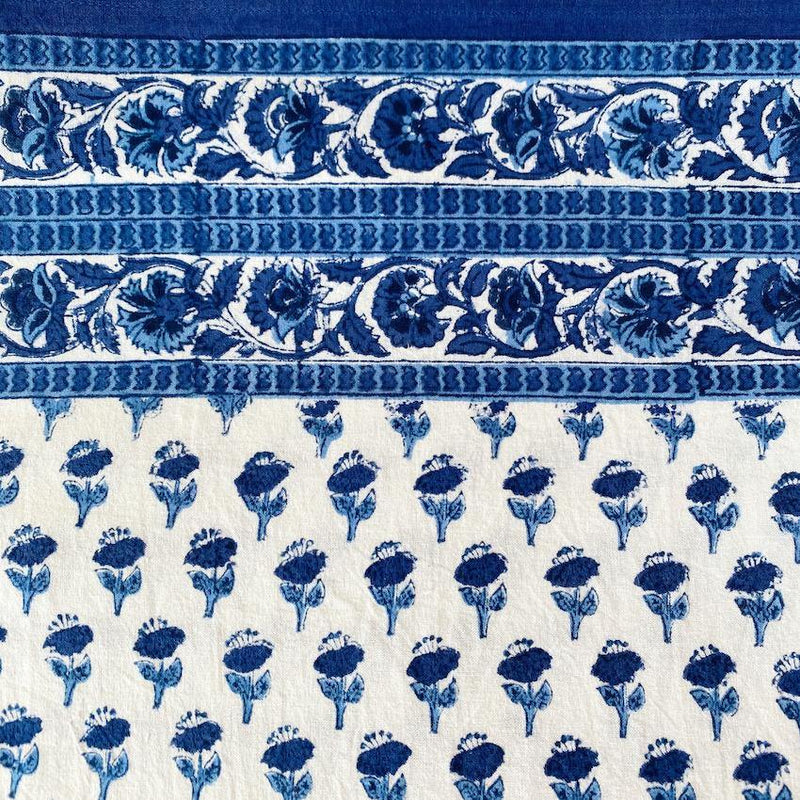Blue Carnation Tablecloth