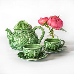 Lettuce Tea Set - Large Cups