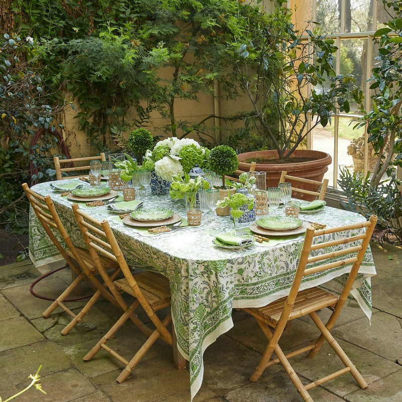 Serena Green Tablecloth