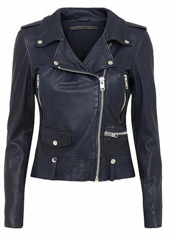 MDK Seattle Colour Leather Jacket