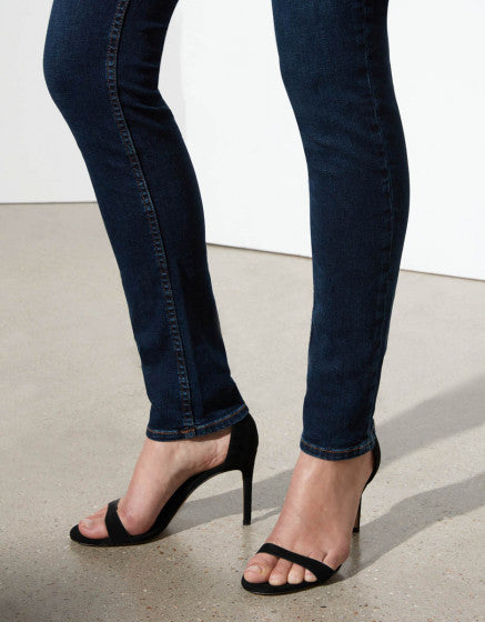 Reiko Tero Slim Fit Mid Rise Jean - Dark Wash