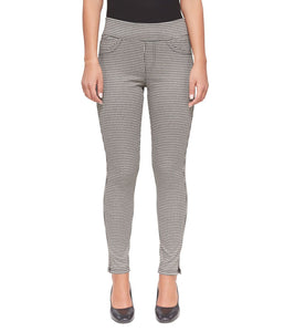 Anna Leggings in Jacquard Houndstooth
